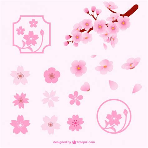 new year cherry blossom vector cherry blossom vectors photos and psd files free