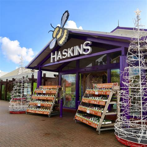 haskins garden centres support purple tuesday