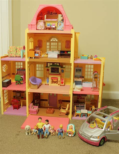 fisher price grand doll house fisher price loving family grand mansion dollhouse people furniture accessories