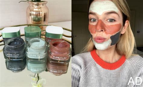 L Oreal Clay Mask l or 233 al clay mask range pippa o connor