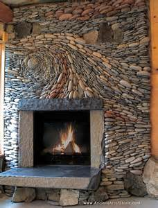 Natural Stone Fireplaces Natural Stone Fireplace Fireplaces Pinterest