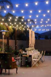 Patio Outdoor Lighting 26 Breathtaking Yard And Patio String Lighting Ideas Will