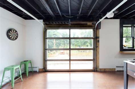 cool garage door option  walkout basement garage
