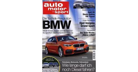 Auto Motor Sport Abo by 6 Ausgaben Auto Motor Sport Abo Kostenlos 3 95 Versand