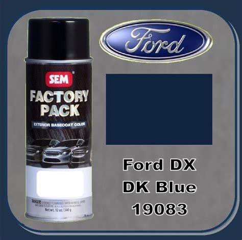 sem 19083 sem factory pack basecoat ford paint code dx quot blue pearl quot 16oz aerosol