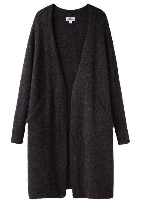 Outwear Sweater Aw Black comey compass dress cardigan and acne studios