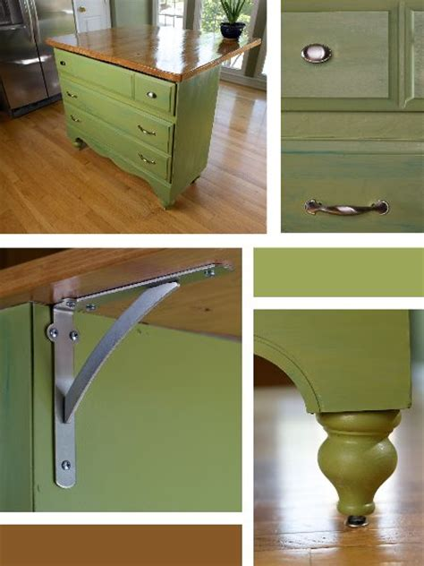 Kitchen Island Made Out Of Dresser by Kitchen Decor Ideas On 35 Pins