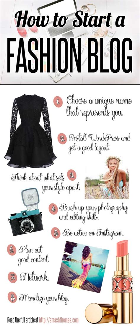 tips for how to start a fashion of your own by