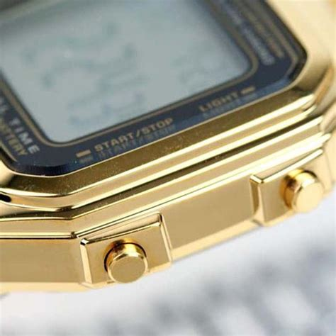 Guess Collection Combi Steel Wga casio classic gold stainless steel daily alarm digital