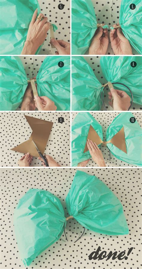 How To Make Bows With Tissue Paper - sherman samuel diy oversized bow