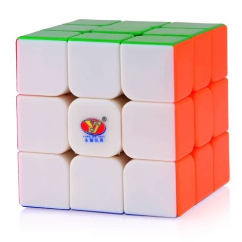 Mainan Rubik 3x3 Stickerless Yj Guanlong 3x3x3 Stickerles Asli Ori yj yulong 3x3x3 stickerless magic cube colored 3x3x3 cubezz professional puzzle store for