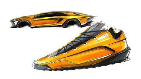 lamborghini shoes 신발 스케치 디자인 lamborghini shoes sketch design
