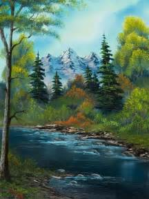 bob ross paintings acrylic 40 easy and simple landscape painting ideas bob ross
