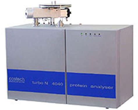 n protein analyzer costech turbo n 4040 nitrogen protein analyzer