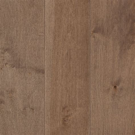 Maple Hardwood Flooring Mohawk 5 In W Prefinished Steel Maple Hardwood Flooring