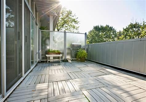 terrasse oder balkon sichtschutz f 252 r terrasse oder balkon