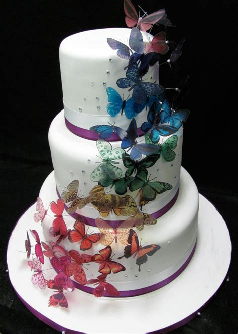 Butterfly Wedding Cake by Butterfly Wedding Cake Cakecentral
