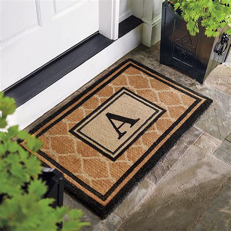 coir outdoor door mat frontgate - Frontgate Doormats