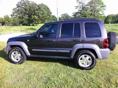 2006 Jeep Liberty Diesel Fuel Economy Sell Used 2006 Jeep Liberty Crd Diesel Sport 4x4 In Spiro