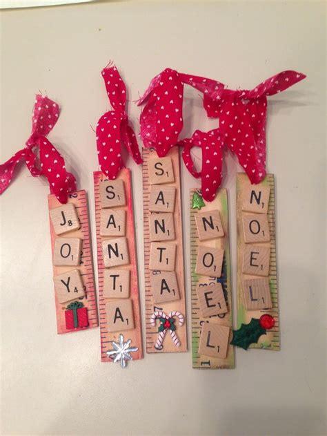 scrabble ornaments diy ornaments you can make in minutes