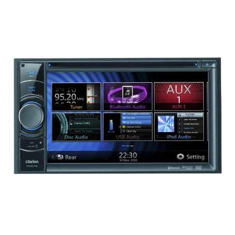 Unit Dobel Din nx501e din sat nav all in one unit with 6 2 inch touc