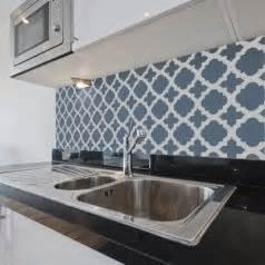 stencil tile backsplash moroccan stencil wall pattern stencils for walls