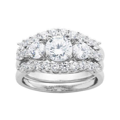 diamonart 174 sterling silver bridal ring from jcpenney