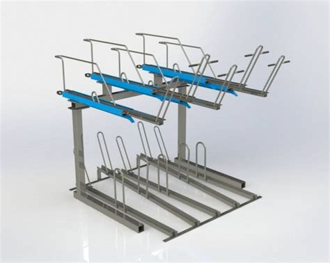 Bike Rack Parking Systems by The Odoni Elwell Decker Bike Rack Bike Parking