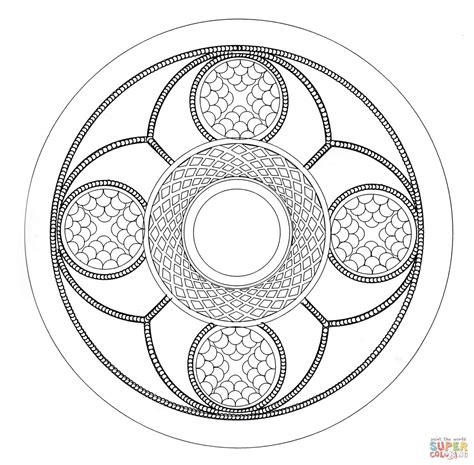 free coloring pages mandalas celtic celtic mandala 6 coloring page free printable coloring pages