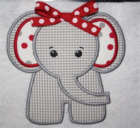 Elephant Applique Quilt Pattern by Bama Elephant Applique Shirt Or Onesie