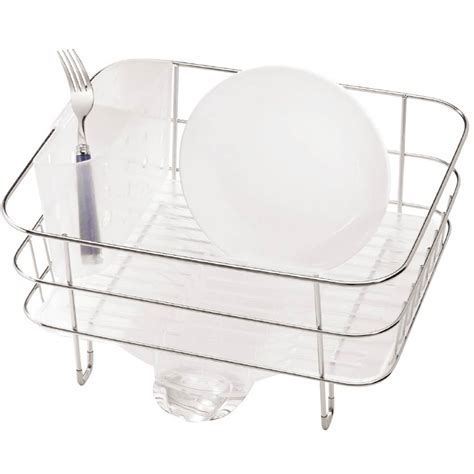 Simple Human Sink Mat by Simplehuman Compact Dishrack Sink Mats Drains Home