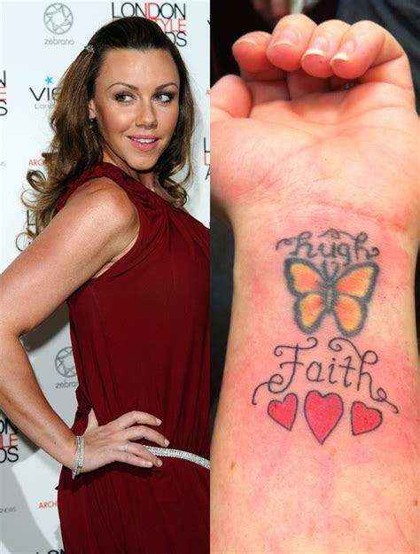 wrist tattoo celebrity heaton with chic butterfly wirst