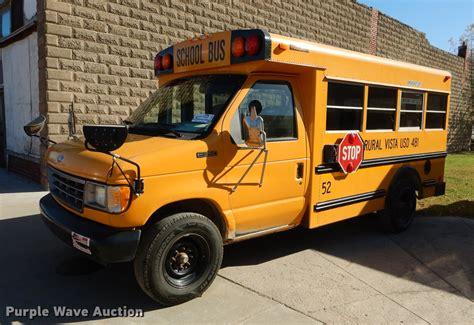 ford econoline  collins school bus  white city