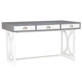 gold and white writing desk white and gold rectangular writing desk