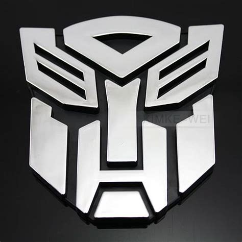 Sticker Alumunium Transformers Pattern Decepticon transformers autobot 3d logo emblem badge decal car sticker new ebay