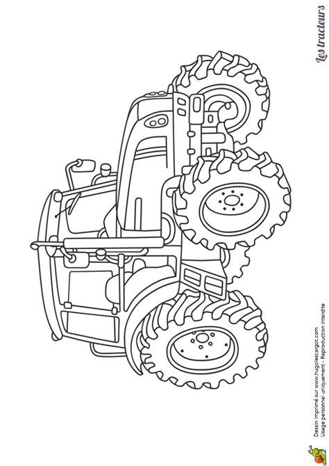 jeux 馗ole de cuisine de gratuit dessin 224 imprimer et 224 colorier d un tracteur agricole moderne