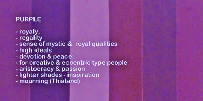 purple color meaning spiritual meaning of colors in captured wishes gift