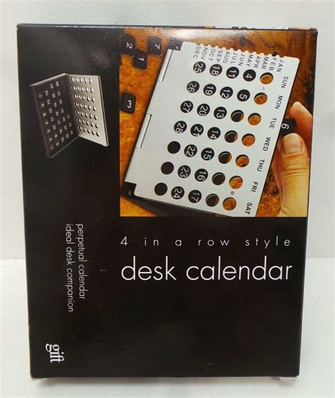 Novelty Desk Calendars by Wholesale Joblot Of 120 4 In A Row Style Desk Calendars Ss0013