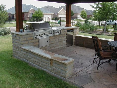 backyard kitchen designs functional backyard design ideas for lounge space and