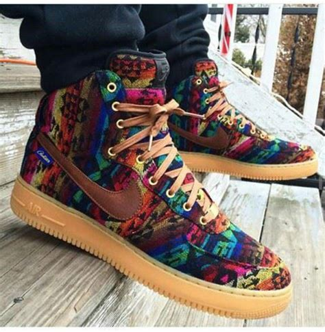 colorful air forces shoes nike nike shoes nike air 1 multicolor