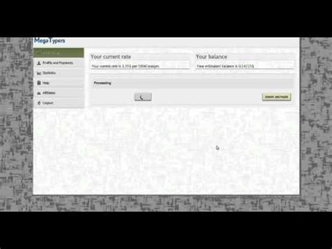 How To Make Money Online Instantly - how to make money online megatypers try it now youtube