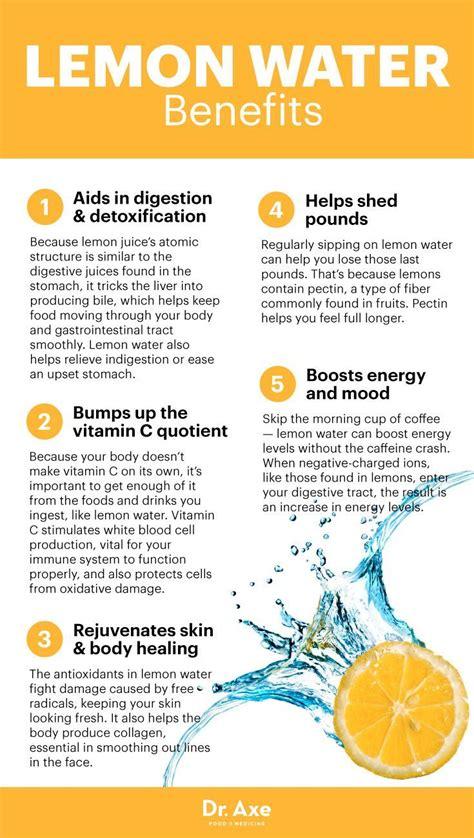 Is Lemon Water A Detox by Benefits Of Lemon Water Detox Your And Skin Lemon