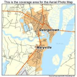 aerial photography map of georgetown sc south carolina