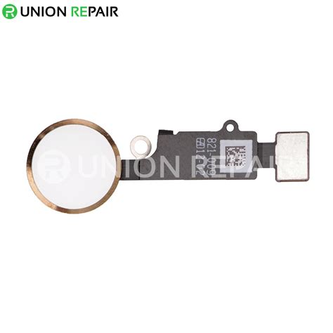 replacement for iphone 7 7 plus home button assembly gold