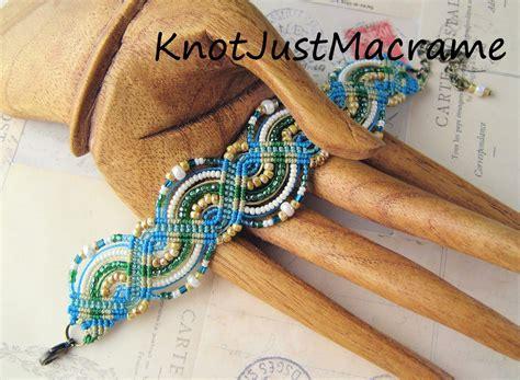 Micro Macrame Tutorials - knot just macrame by sherri stokey micro macrame bracelet