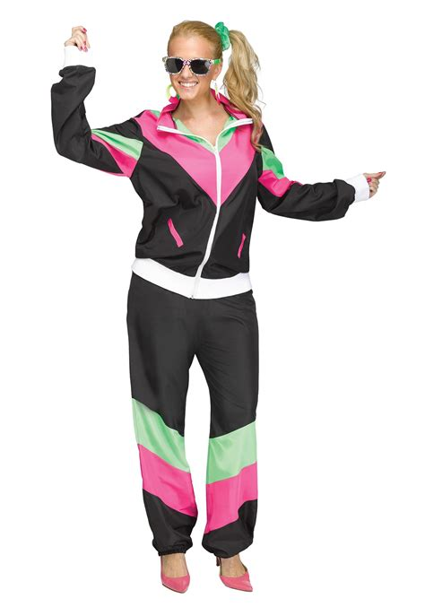 80s costume 80 s track suit costume for
