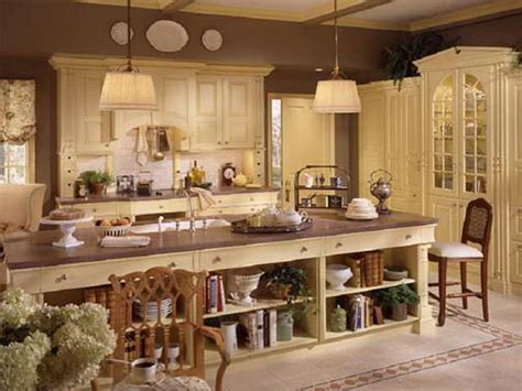 Country French Kitchens Decorating Idea | kitchen french country kitchen decorating ideas french
