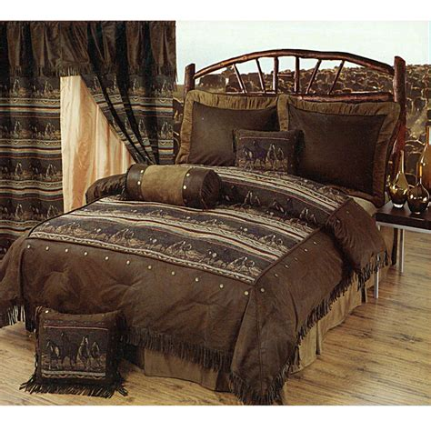Southwestern Style Bedding Sets Mustange Horses Southwestern Style Bedding Set Available At Monstermarketplace Western