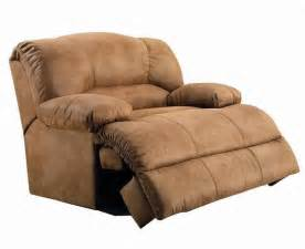 oversized microfiber recliner living room