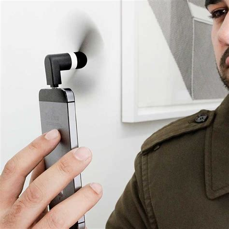 iphone fan plug in iphone mini fan stay cool in style the present finder